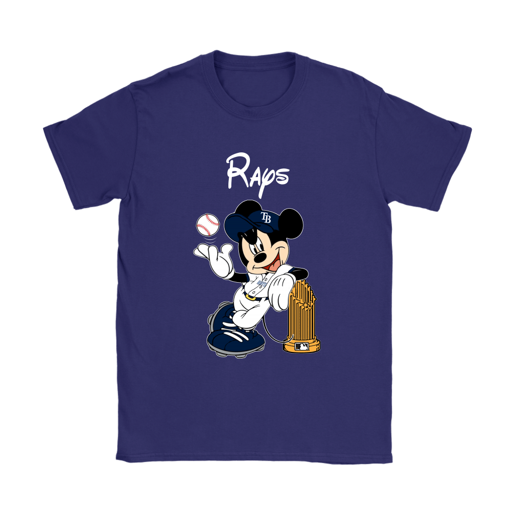 Tampa Bay Rays Mickey Taking The Trophy MLB 2018 Shirts 11