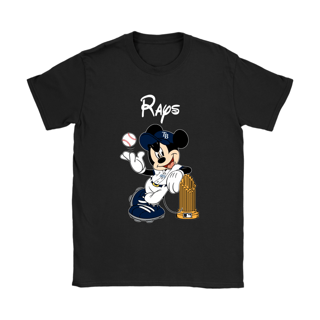 Tampa Bay Rays Mickey Taking The Trophy MLB 2018 Shirts 8