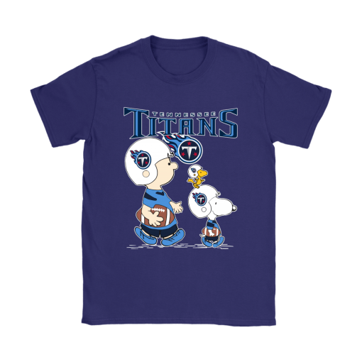 Tennessee Titans Let's Play Football Together Snoopy NFL Shirts 10