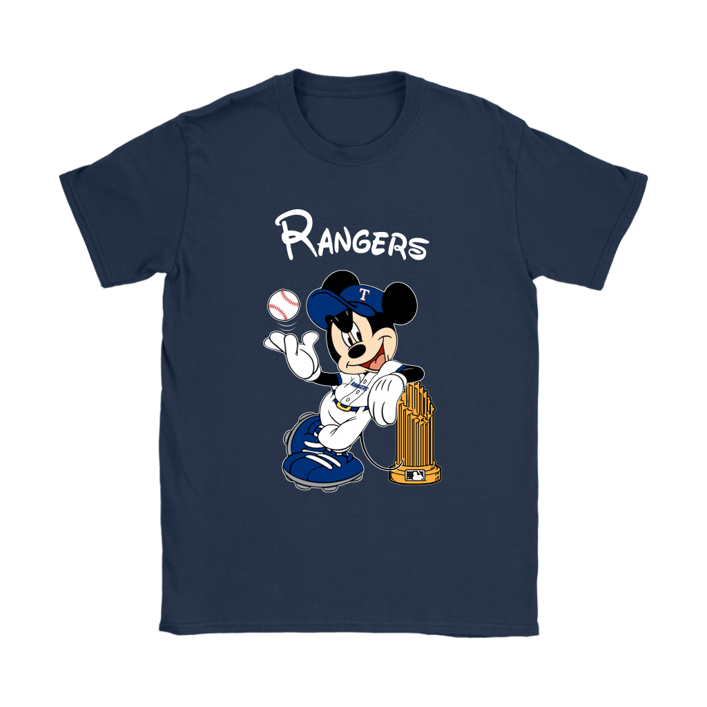 Texas Rangers Mickey Taking The Trophy MLB 2018 Shirts 10