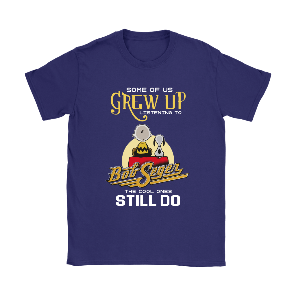 The Cool Ones Still Listening To Bob Seger Music Snoopy Shirts 10