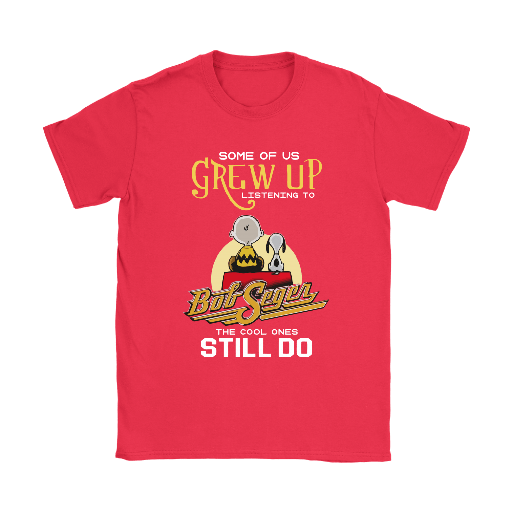 The Cool Ones Still Listening To Bob Seger Music Snoopy Shirts 11