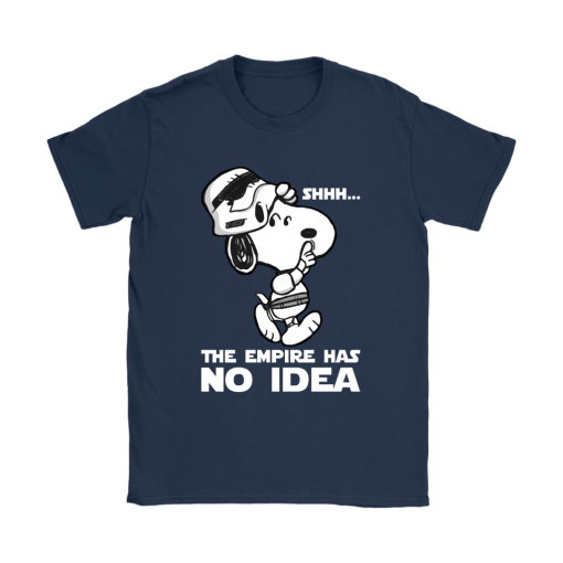The Empire Has No Idea Funny Star Wars Snoopy Shirts 10