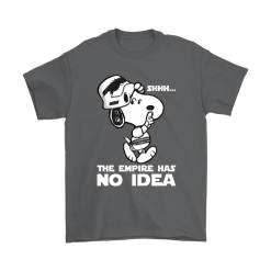 The Empire Has No Idea Funny Star Wars Snoopy Shirts 15