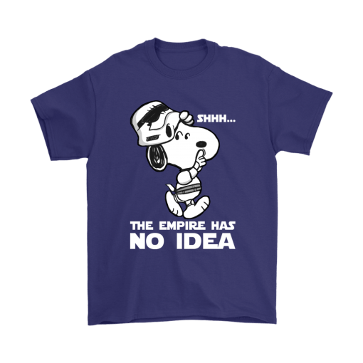 The Empire Has No Idea Funny Star Wars Snoopy Shirts 4
