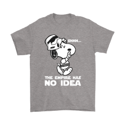 The Empire Has No Idea Funny Star Wars Snoopy Shirts 20