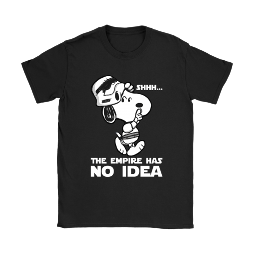 The Empire Has No Idea Funny Star Wars Snoopy Shirts 8