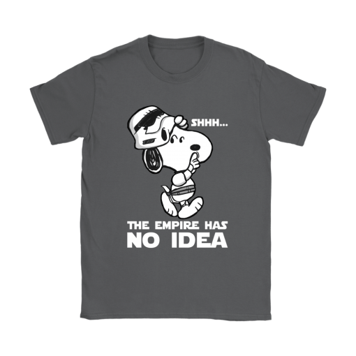 The Empire Has No Idea Funny Star Wars Snoopy Shirts 9