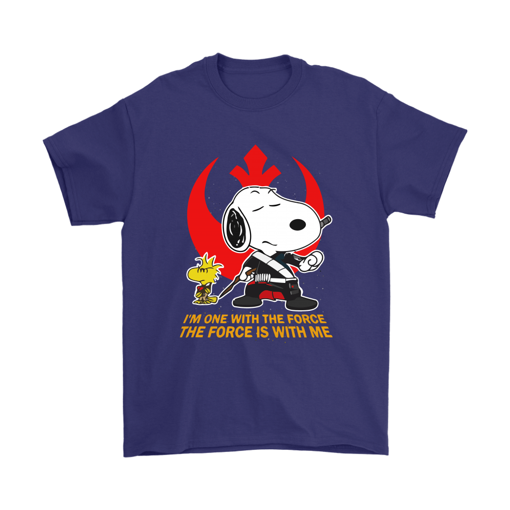 The Force Is With Me Star Wars Snoopy Shirts 4