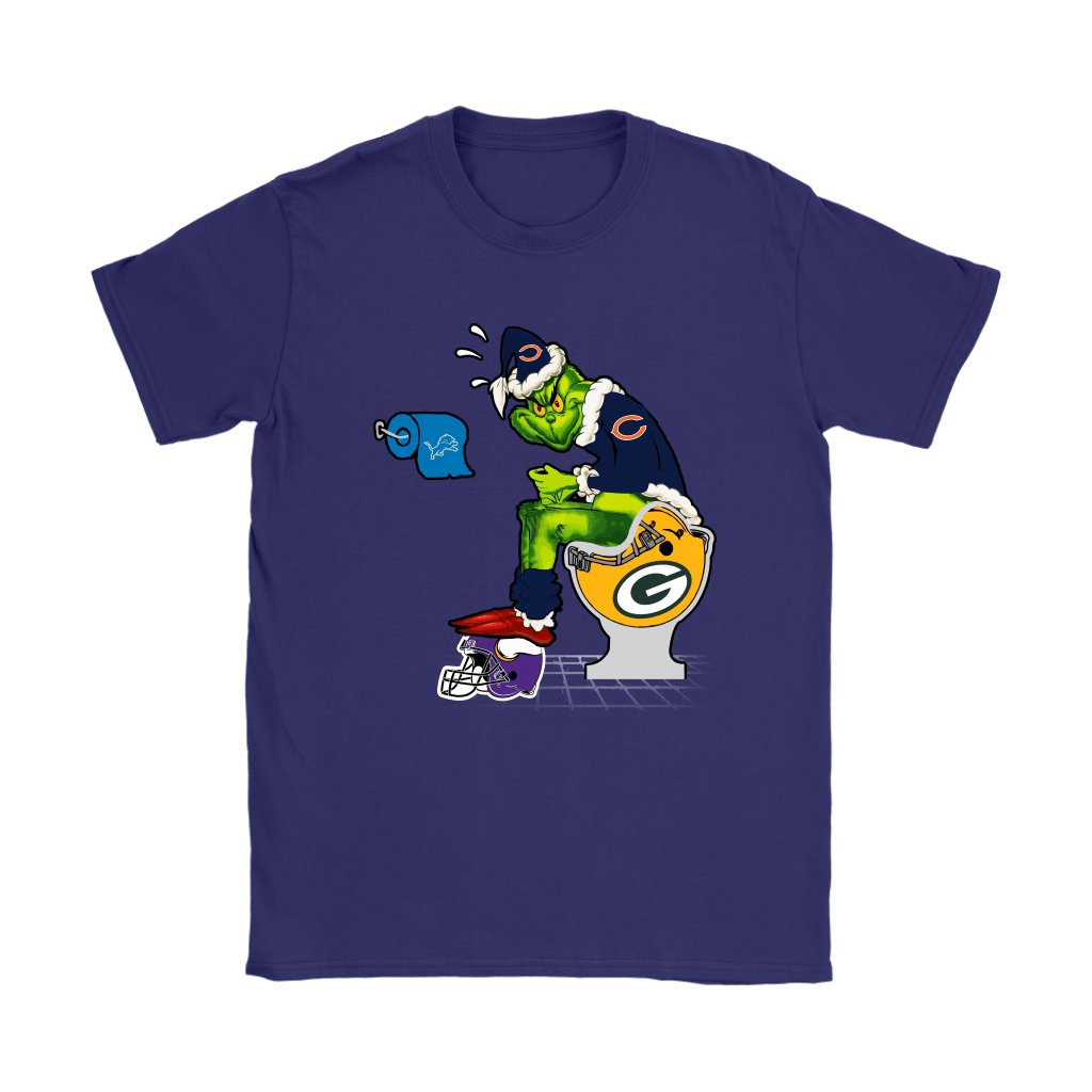 The Grinch Chicago Bears Shit On Other Teams Christmas Shirts 11