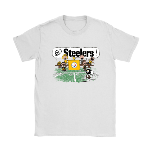 The Peanuts Cheering Go Snoopy Pittsburgh Steelers Shirts 4