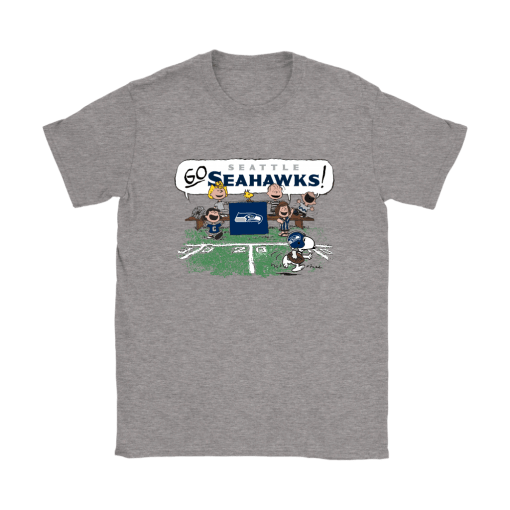 The Peanuts Cheering Go Snoopy Seattle Seahawks Shirts 3