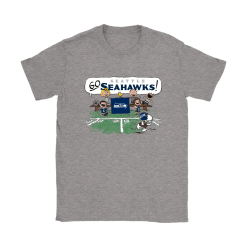 The Peanuts Cheering Go Snoopy Seattle Seahawks Shirts 6