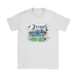 The Peanuts Cheering Go Snoopy Tennessee Titans Shirts 7