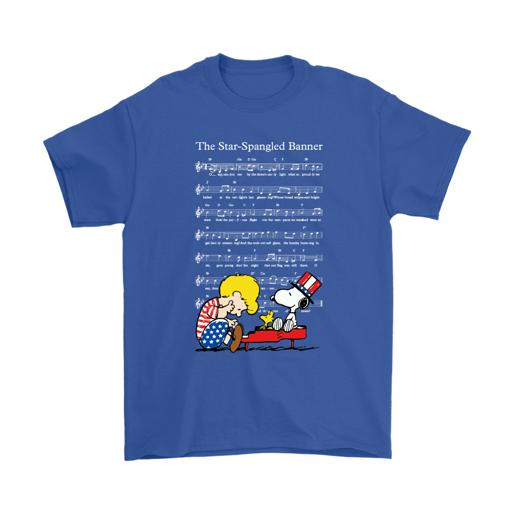 The Star-Spangled Banner Snoopy Independence Day 4th Of July Shirts 5