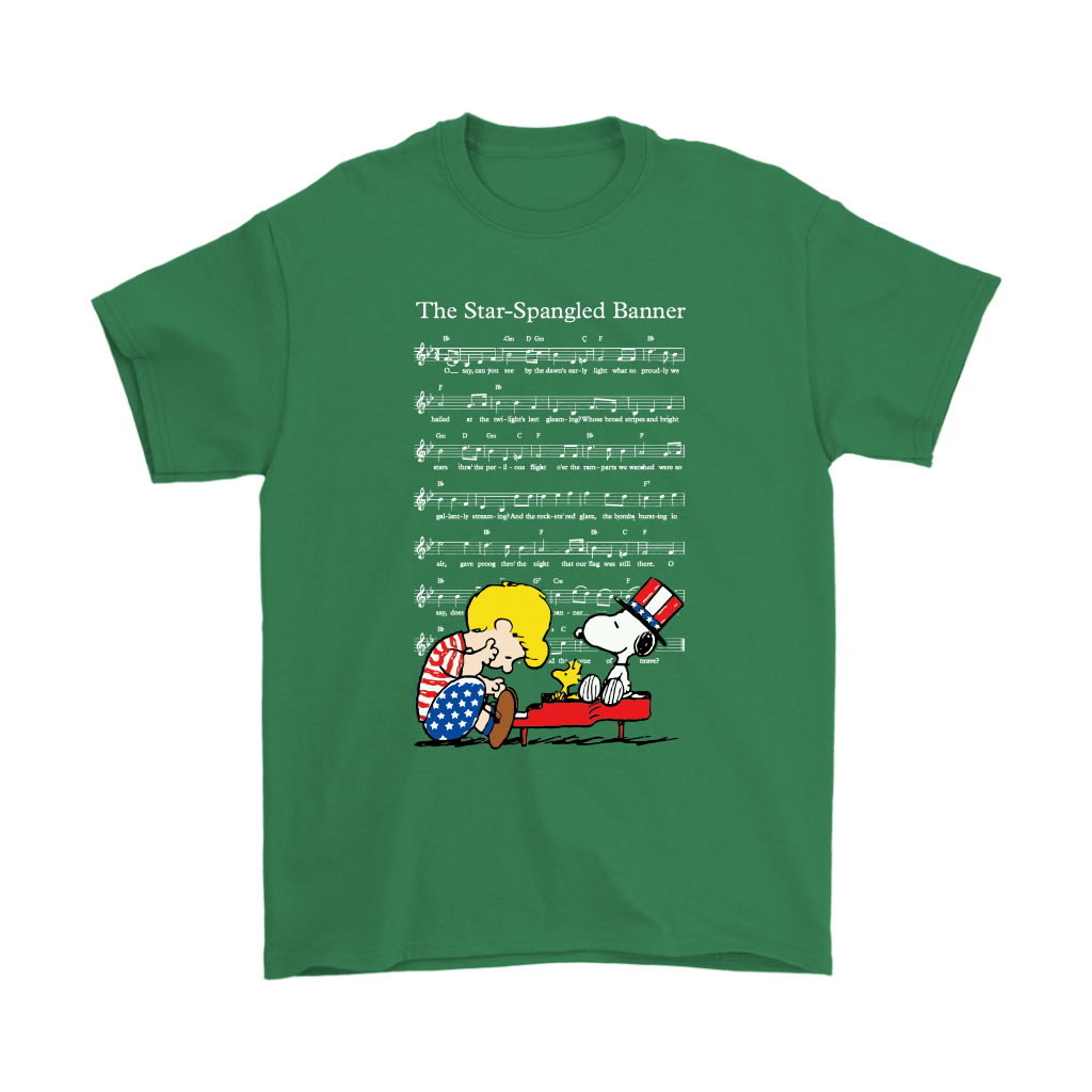 The Star-Spangled Banner Snoopy Independence Day 4th Of July Shirts 6