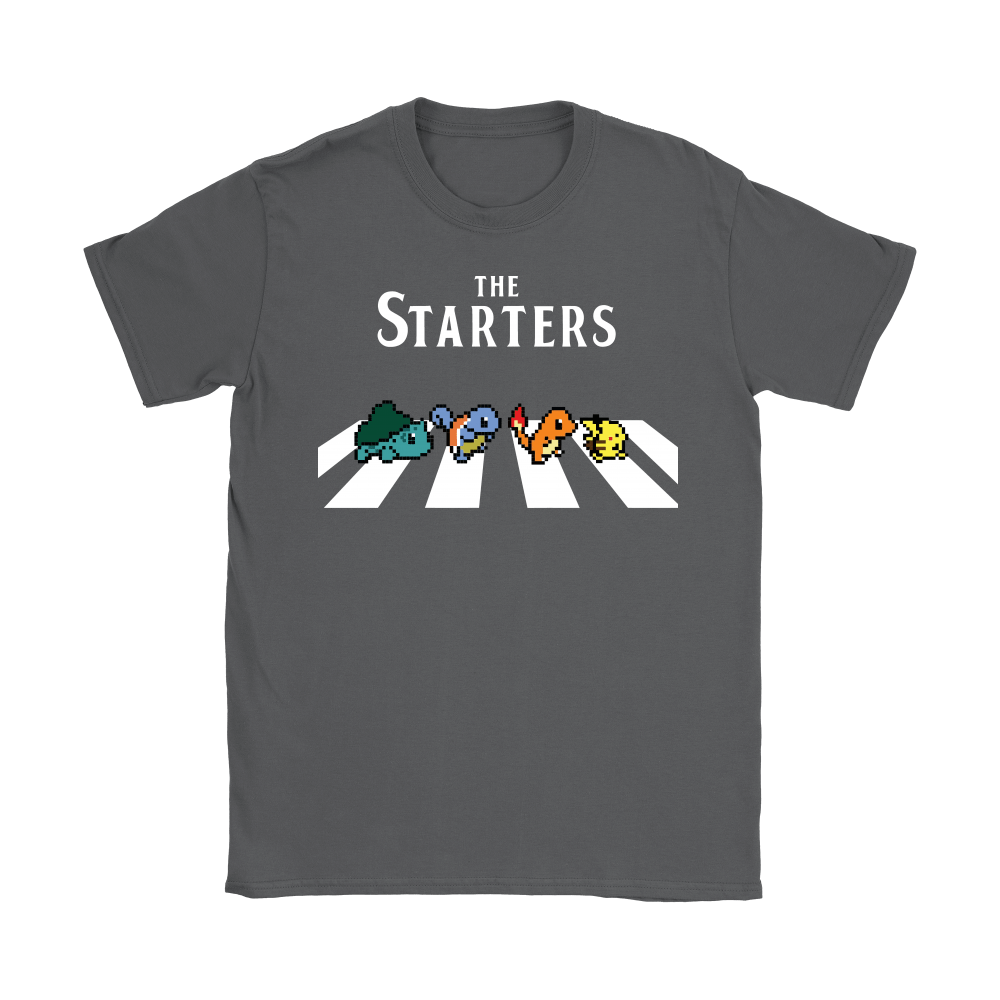 The Starters Abbey Road Pokemon Shirts 10