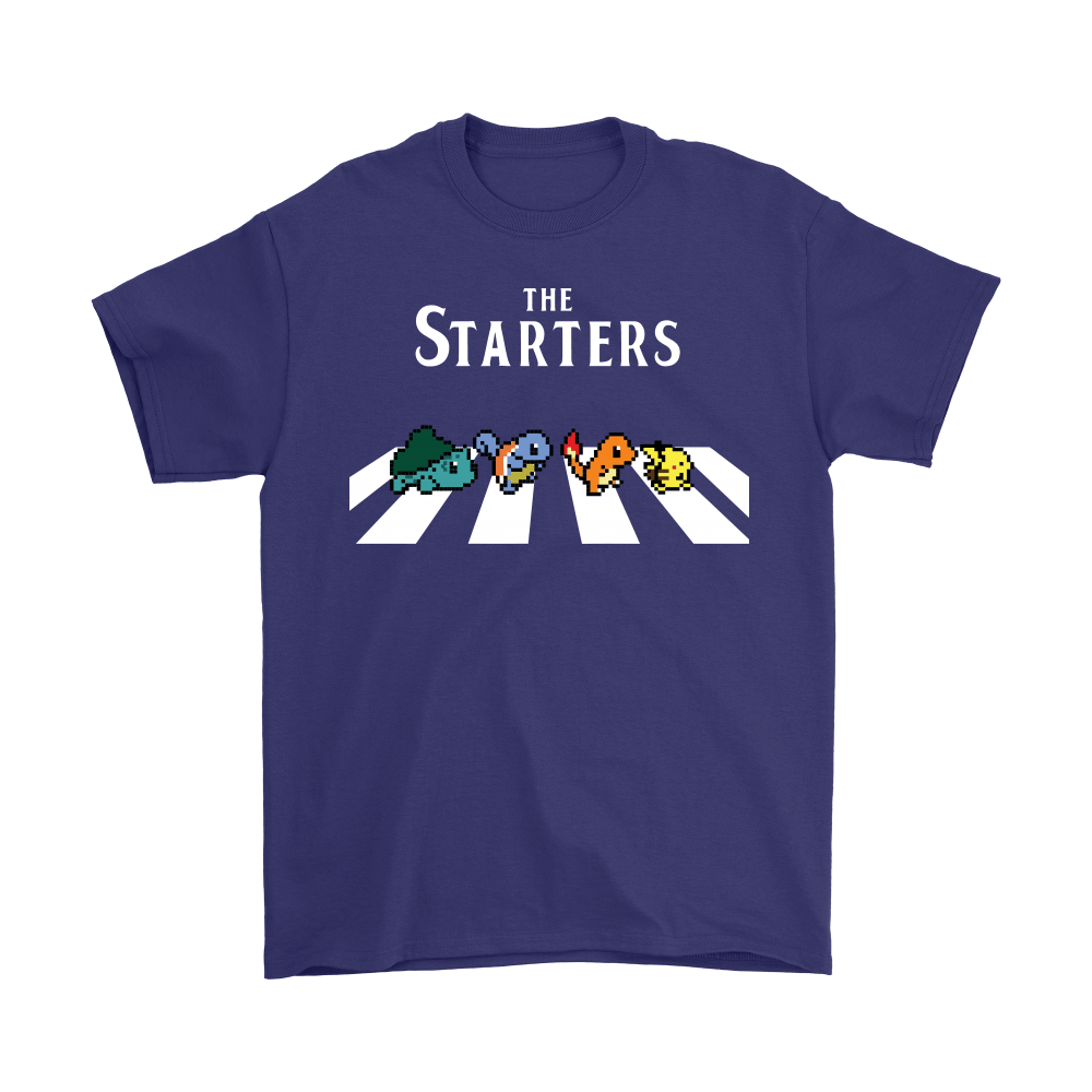 The Starters Abbey Road Pokemon Shirts 4