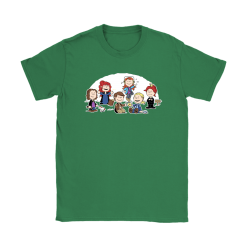 The Super Nutural Girls Snoopy Shirts 27