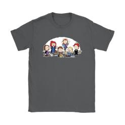 The Super Nutural Girls Snoopy Shirts 22