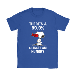 There's A 99,9% Chance I Am Hungry Snoopy Shirts 25