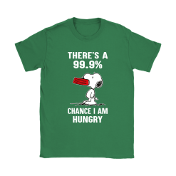 There's A 99,9% Chance I Am Hungry Snoopy Shirts 27