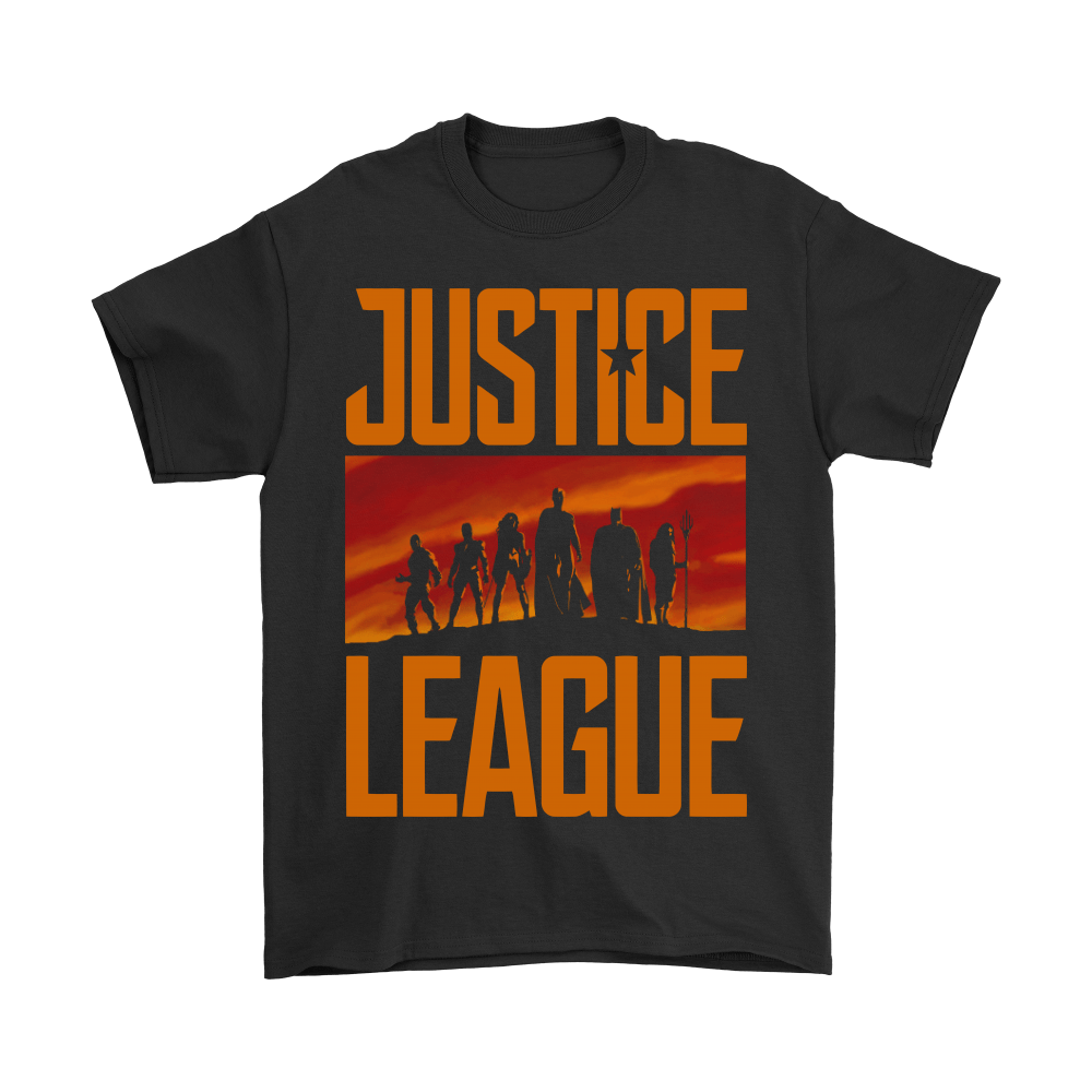They've Never Faced Us Before. Not Us United! Justice League Shirts 1