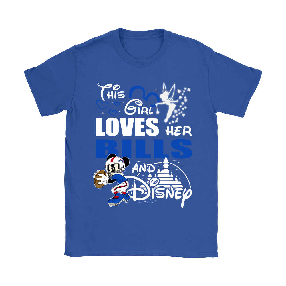 This Girl Loves Her Buffalo Bills And Mickey Disney Shirts 14