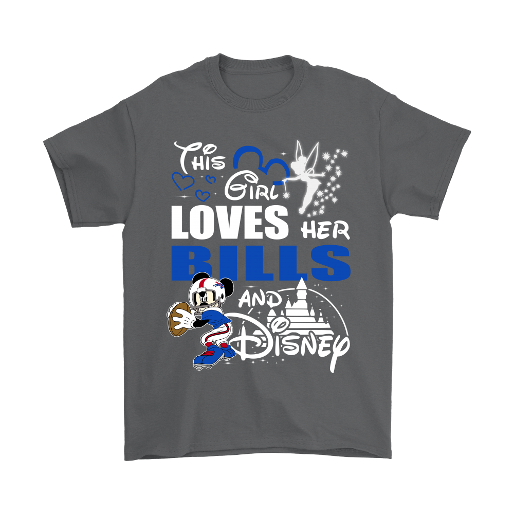 This Girl Loves Her Buffalo Bills And Mickey Disney Shirts 2