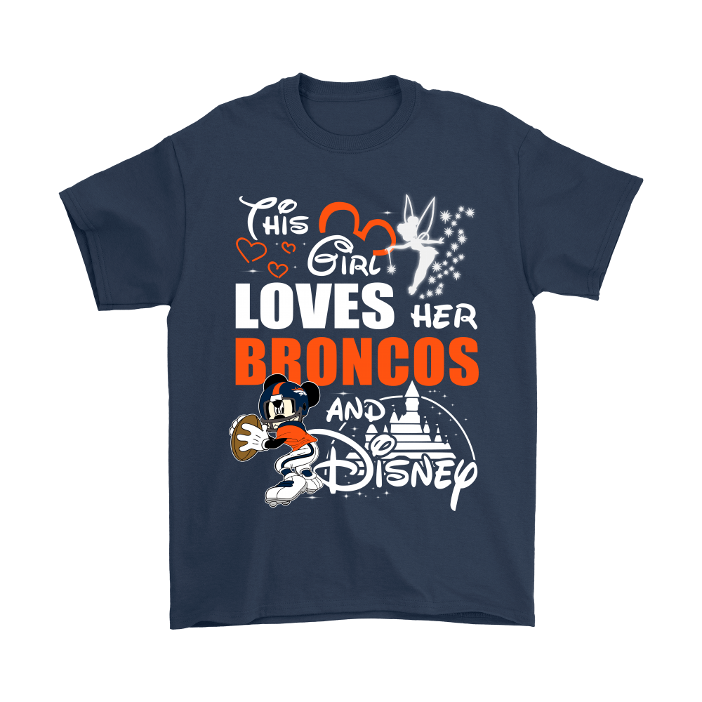 This Girl Loves Her Denver Broncos And Mickey Disney Shirts 3