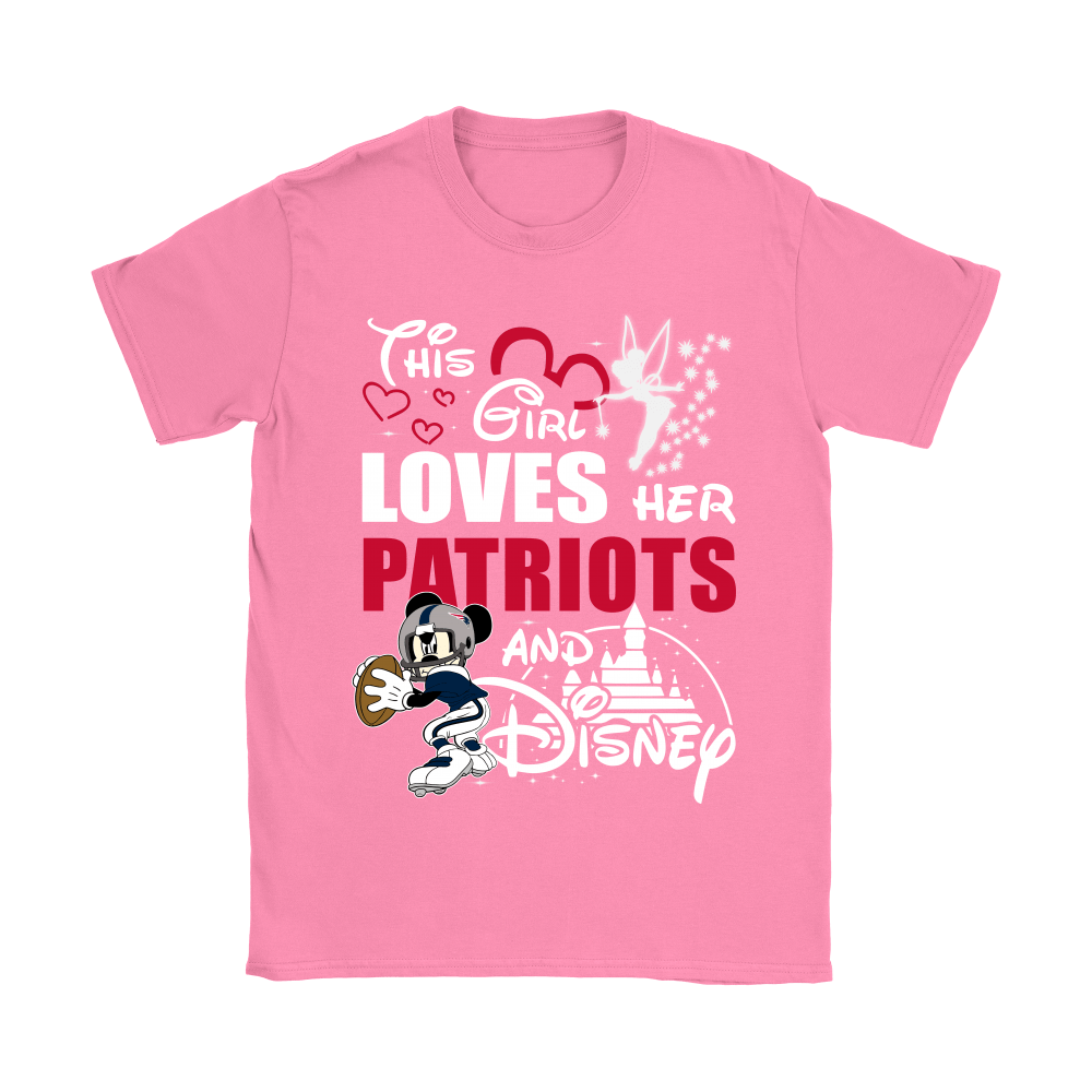 This Girl Loves Her New England Patriots And Mickey Disney Shirts 8