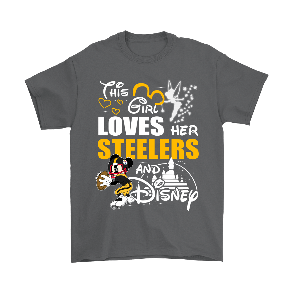 9bb45bd444f This Girl Loves Her Pittsburgh Steelers And Mickey Disney Shirts ...