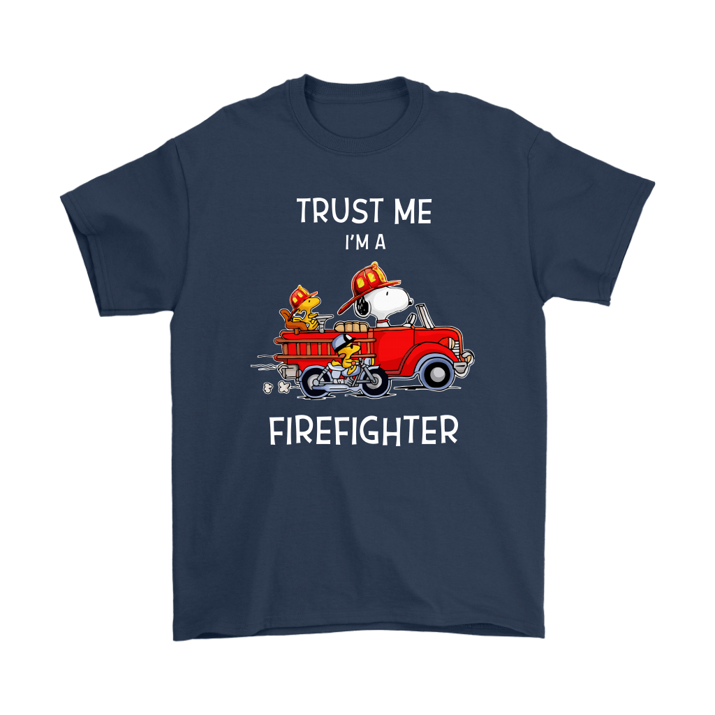 Trust Me I'm A Firefighter Snoopy Shirts 3