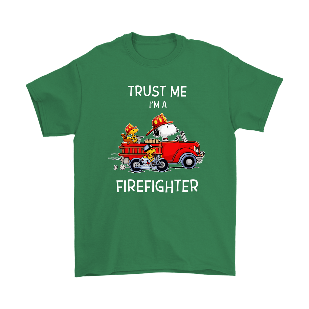 Trust Me I'm A Firefighter Snoopy Shirts 7