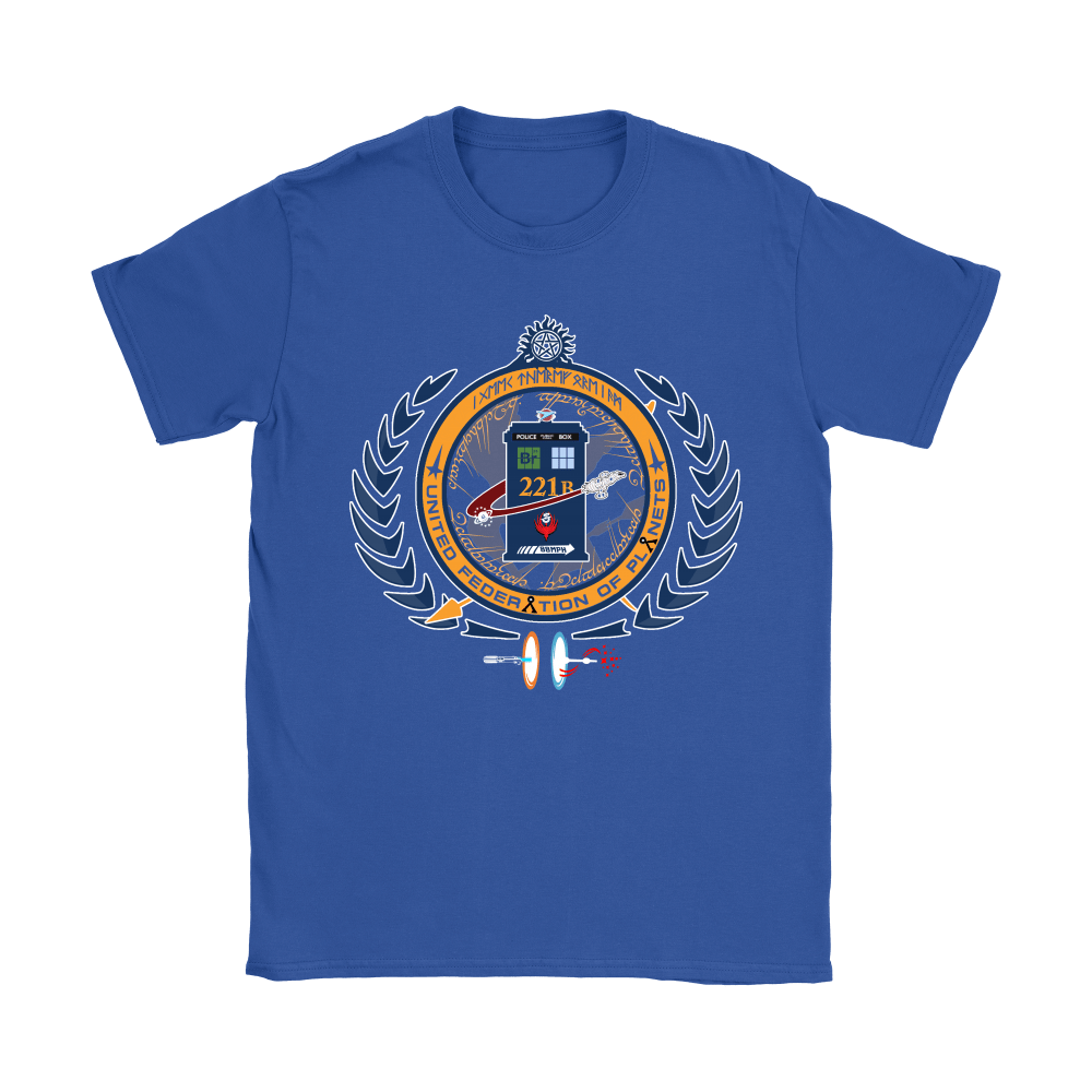 United Federation Of Planets And Universes Ultimate NERDs Shirts 10