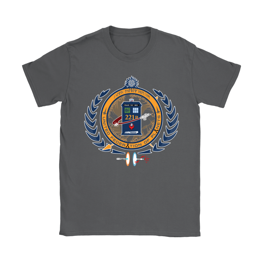 United Federation Of Planets And Universes Ultimate NERDs Shirts 7