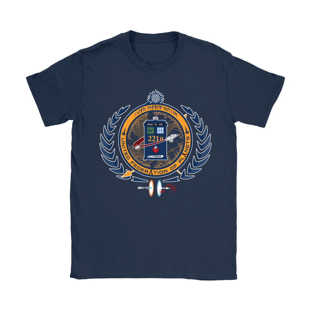 United Federation Of Planets And Universes Ultimate NERDs Shirts 8