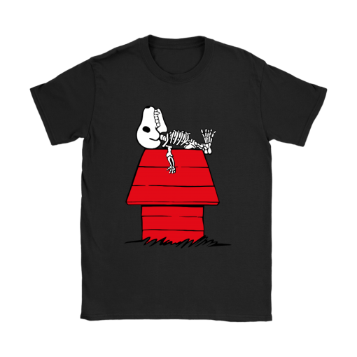 Waiting For Halloween Funny Snoopy Shirts 8