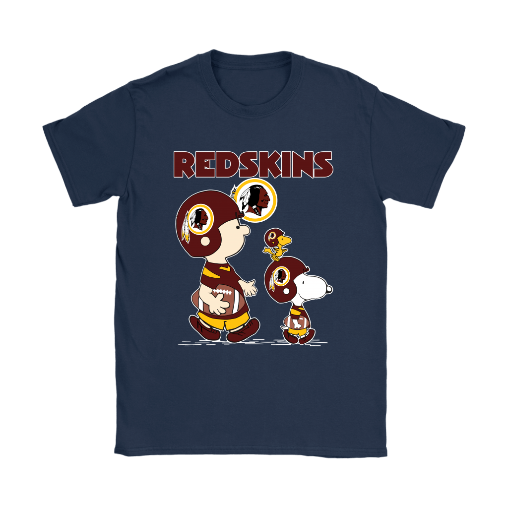 Washington Redskins Let's Play Football Together Snoopy NFL Shirts 9