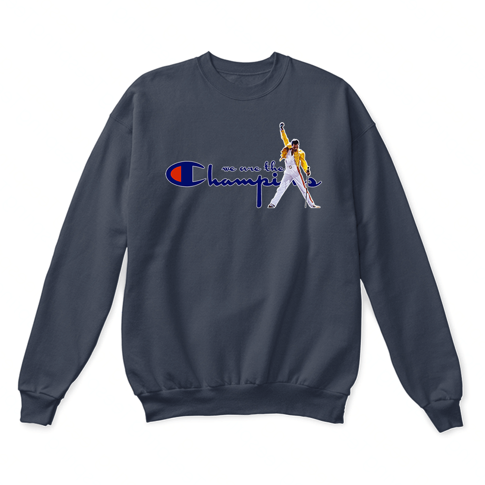 We Are The Champions Queen Freddie Mercury Sweater 7