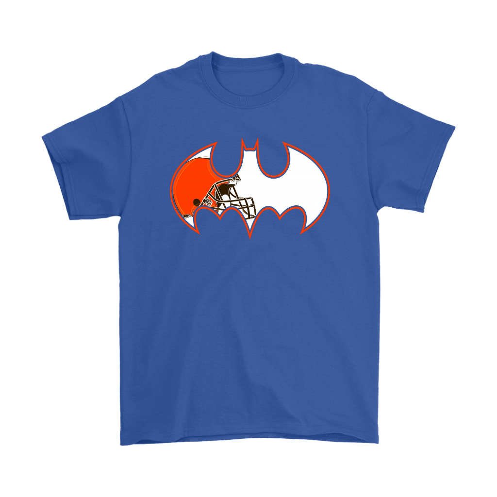 We Are The Cleveland Browns Batman NFL Mashup Shirts 5