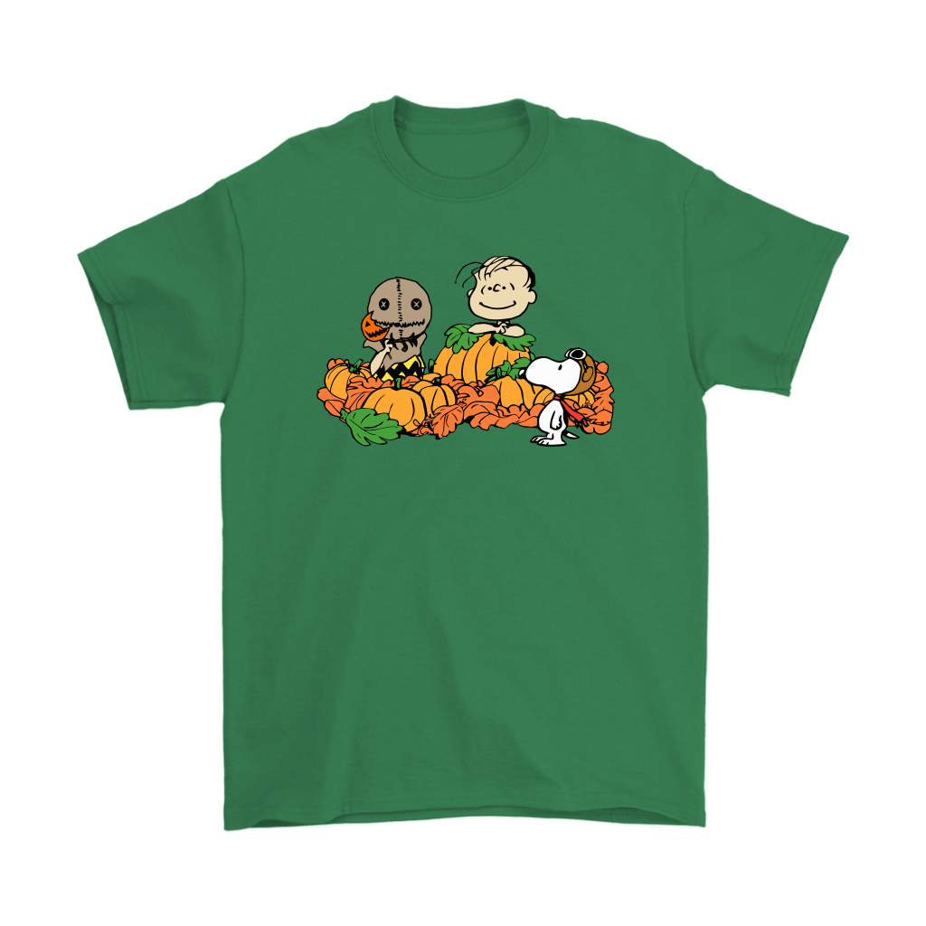 Welcome The Great Pumpkin Sam Brown Halloween Snoopy Shirts 7