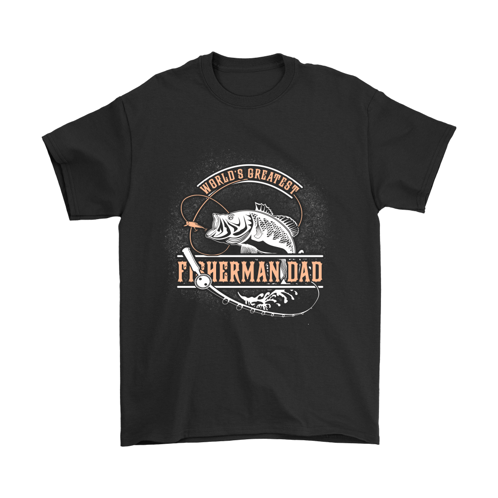 World's Greatest Fisherman Dad Shirts 1