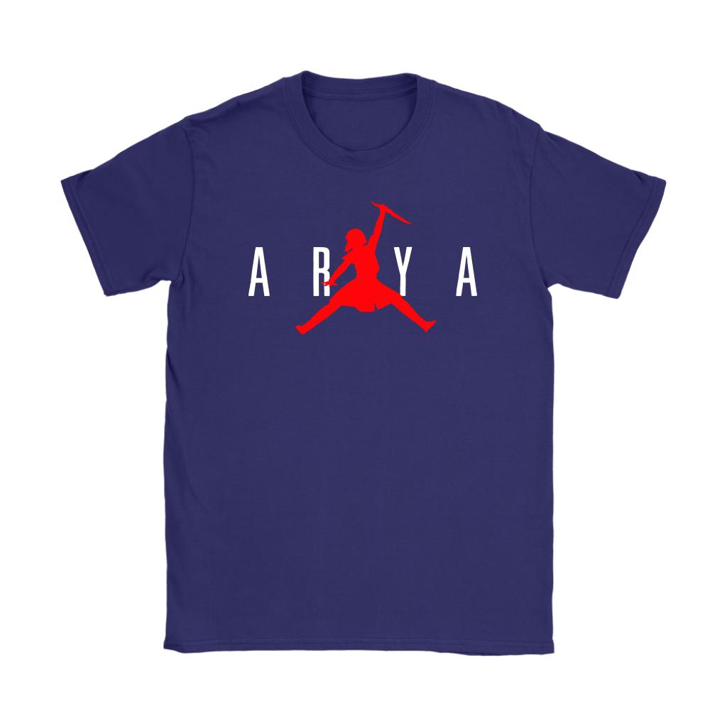 Arya Stark Nike Air Jordan Game Of Thrones Shirts 10