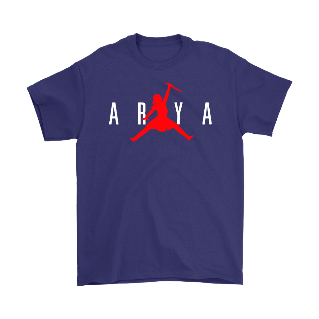 Arya Stark Nike Air Jordan Game Of Thrones Shirts 4