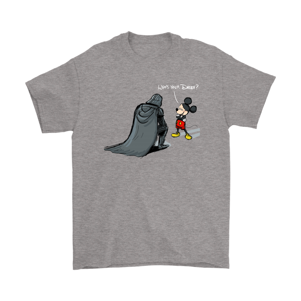 Who's Your Daddy Mickey Mouse And Darth Vader Shirts 6