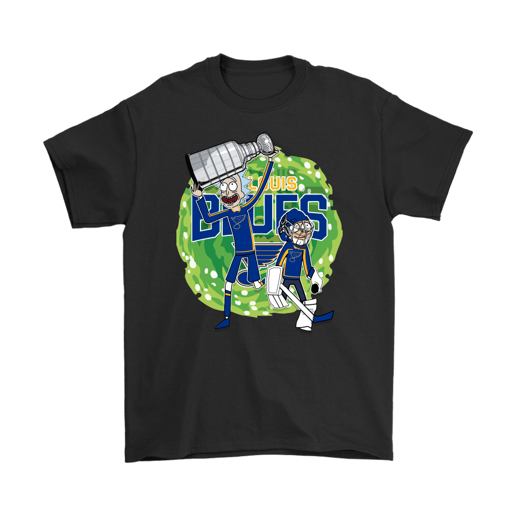 Rick And Morty St. Louis Blues Taking The 2019 Stanley Cup Shirts 1