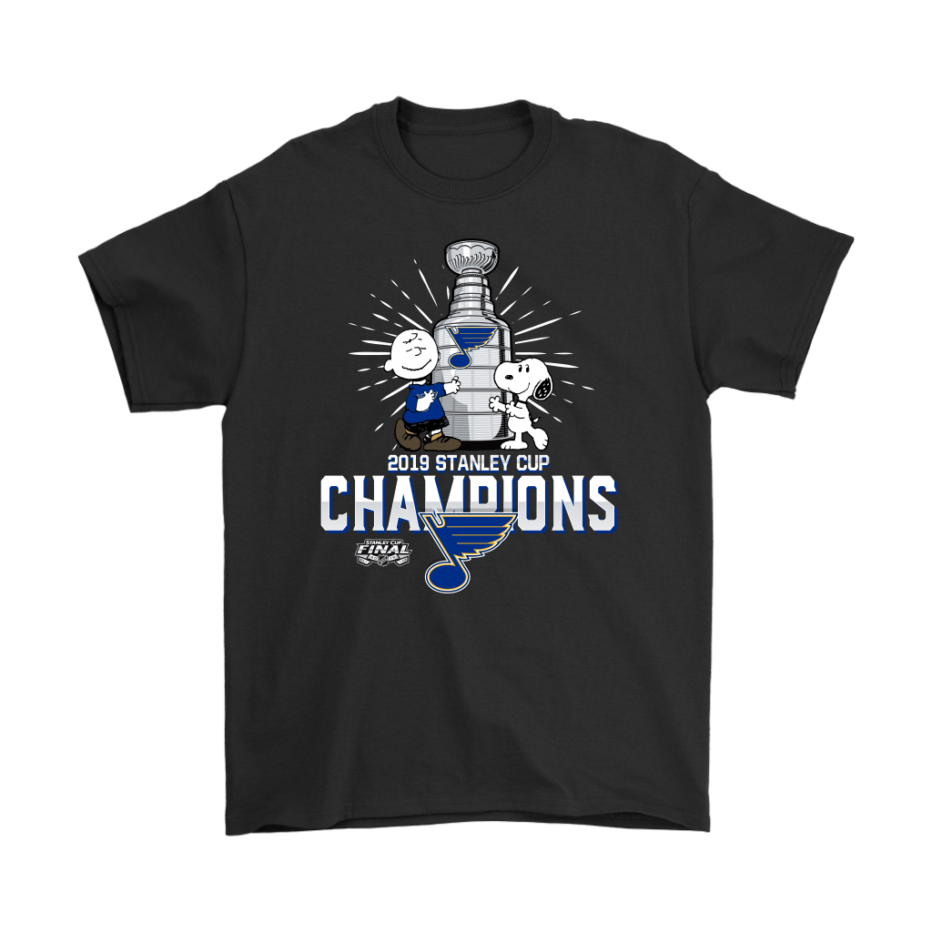 2019 Stanley Cup Champion St. Louis Blues Snoopy Shirts 1