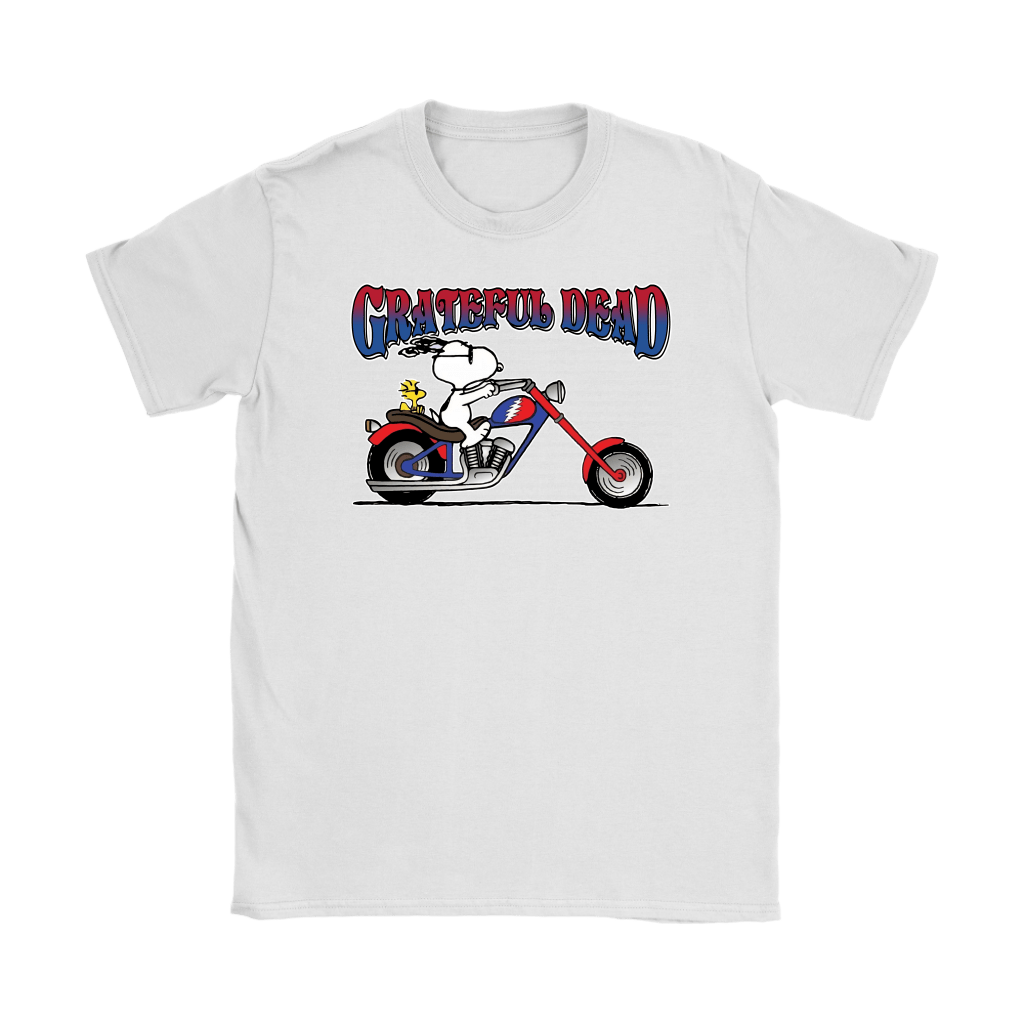 Snoopy Grateful Dead At Least I'm Enjoying The Ride Shirts 14