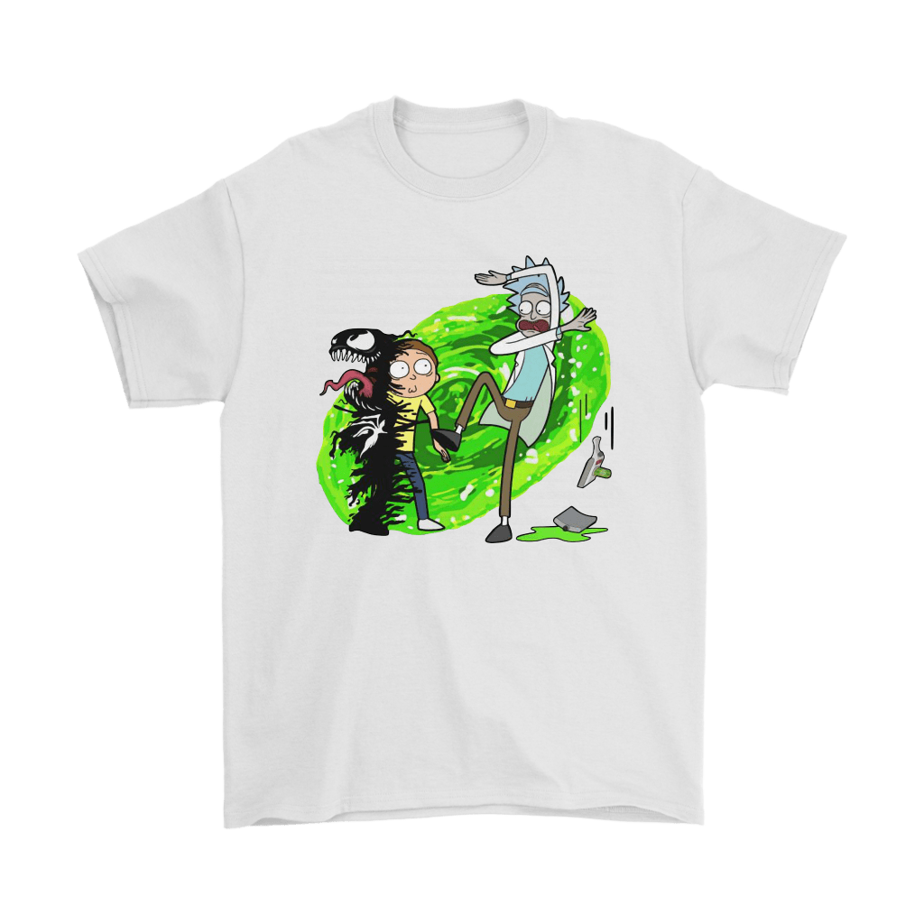 Morty Venom Rick And Morty Marvel Mashup Shirts 7